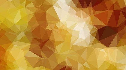 Abstract Orange Polygonal Background Design Vector Illustration