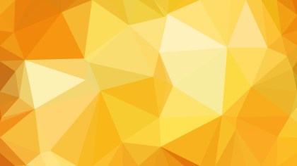 Orange Polygon Triangle Pattern Background