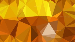 Orange Polygon Abstract Background Illustrator