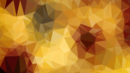 Orange Triangle Geometric Background Vector