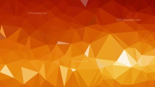 Orange Polygonal Background Template Illustrator