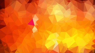 Orange Triangle Geometric Background