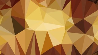 Orange Low Poly Background Template