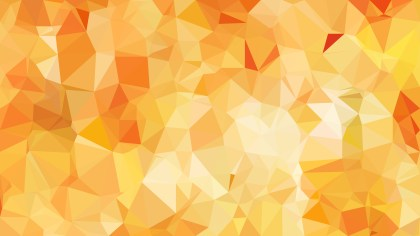 Abstract Orange Polygonal Triangle Background Illustrator