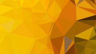 Orange Low Poly Abstract Background Illustrator