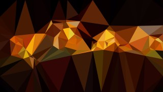 Orange and Black Polygon Pattern Background