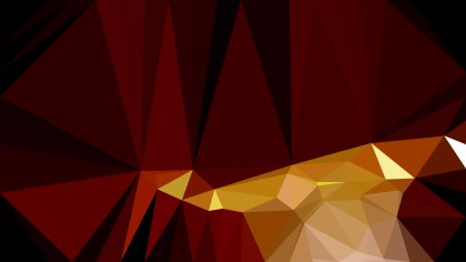 Orange and Black Polygonal Background Template Illustrator