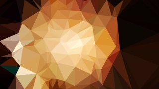 Orange and Black Low Poly Background Design