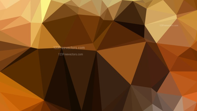 Abstract Orange and Black Polygon Background Design Vector Graphic