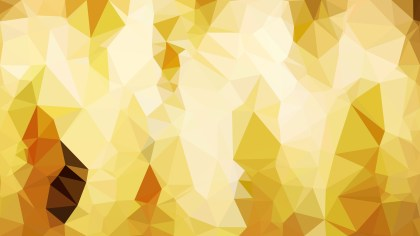 Abstract Orange and White Polygon Pattern Background Illustration