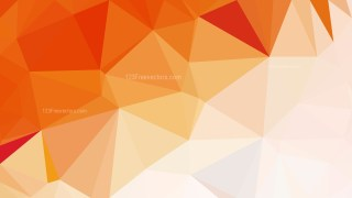 Orange and White Polygon Background Graphic Design