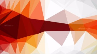Abstract Orange and White Polygonal Background Design