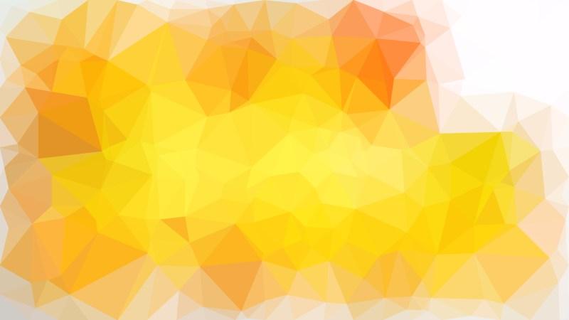 Orange and White Polygonal Background Design Illustration