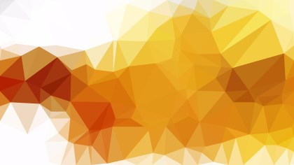 Abstract Orange and White Low Poly Background Design Vector Graphic