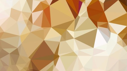 Abstract Orange and White Polygonal Background Template