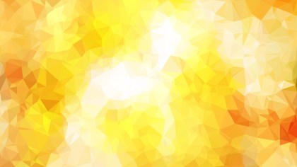 Abstract Orange and White Polygon Background Graphic