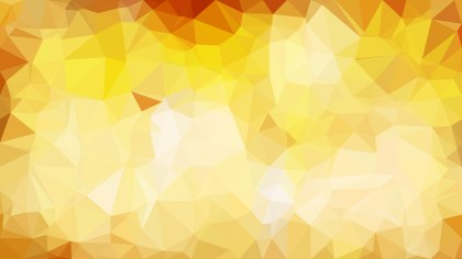 Abstract Orange and White Low Poly Background Template Vector Graphic