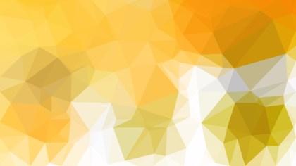 Orange and White Polygon Background Design