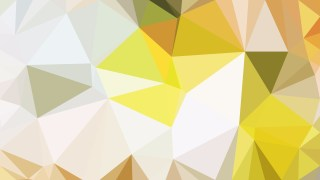 Orange and White Polygon Triangle Pattern Background Illustration
