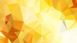 Abstract Orange and White Triangle Geometric Background Vector