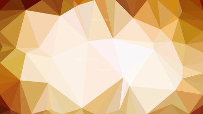 Orange and White Polygon Background Graphic