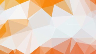 Orange and White Polygonal Background Design Image