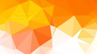 Abstract Orange and White Polygon Background Design Vector Graphic