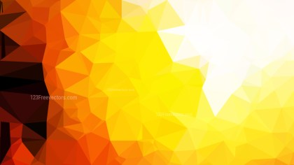 Orange and White Polygon Pattern Abstract Background Vector Illustration