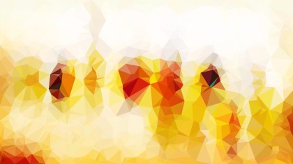 Abstract Orange and White Triangle Geometric Background