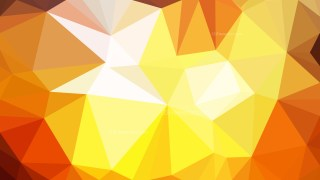 Abstract Orange and White Polygonal Triangular Background