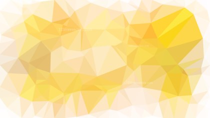 Orange and White Polygon Background Vector