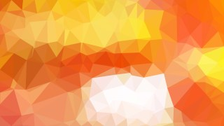 Abstract Orange and White Polygon Pattern Background Vector Art