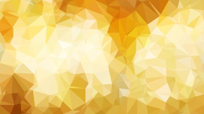Abstract Orange and White Polygonal Triangular Background Vector Art