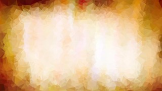 Orange and White Polygonal Triangle Background Illustrator