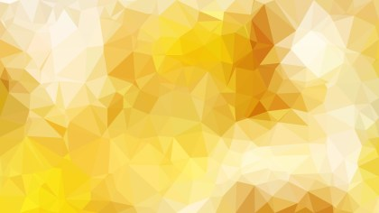 Orange and White Polygonal Abstract Background Vector Illustration