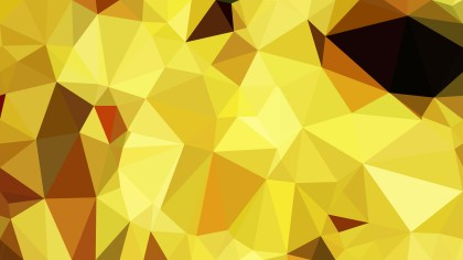 Orange and Yellow Polygonal Background Template