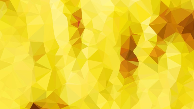 Abstract Orange and Yellow Polygon Background