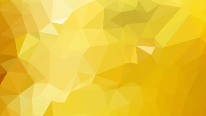 Orange and Yellow Polygon Background Graphic Design