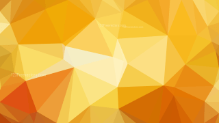 Orange and Yellow Polygonal Abstract Background Design