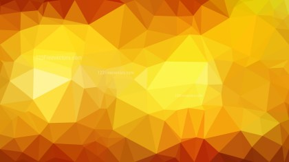 Orange and Yellow Polygonal Abstract Background