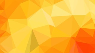 Orange and Yellow Low Poly Background Image