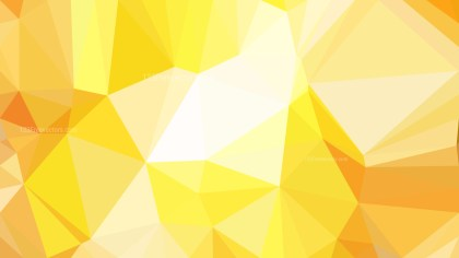 Abstract Orange and Yellow Low Poly Background Template
