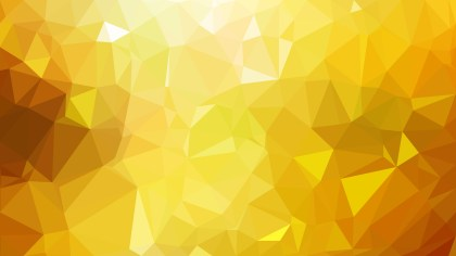 Abstract Orange and Yellow Polygonal Triangle Background