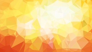 Orange and Yellow Polygonal Triangular Background Vector Illustration
