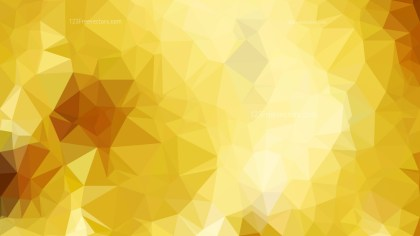 Orange and Yellow Polygonal Triangular Background
