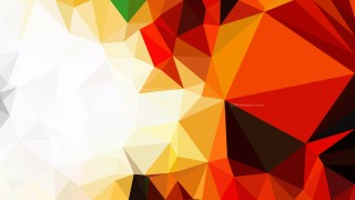Abstract Orange Black and White Polygon Background Graphic
