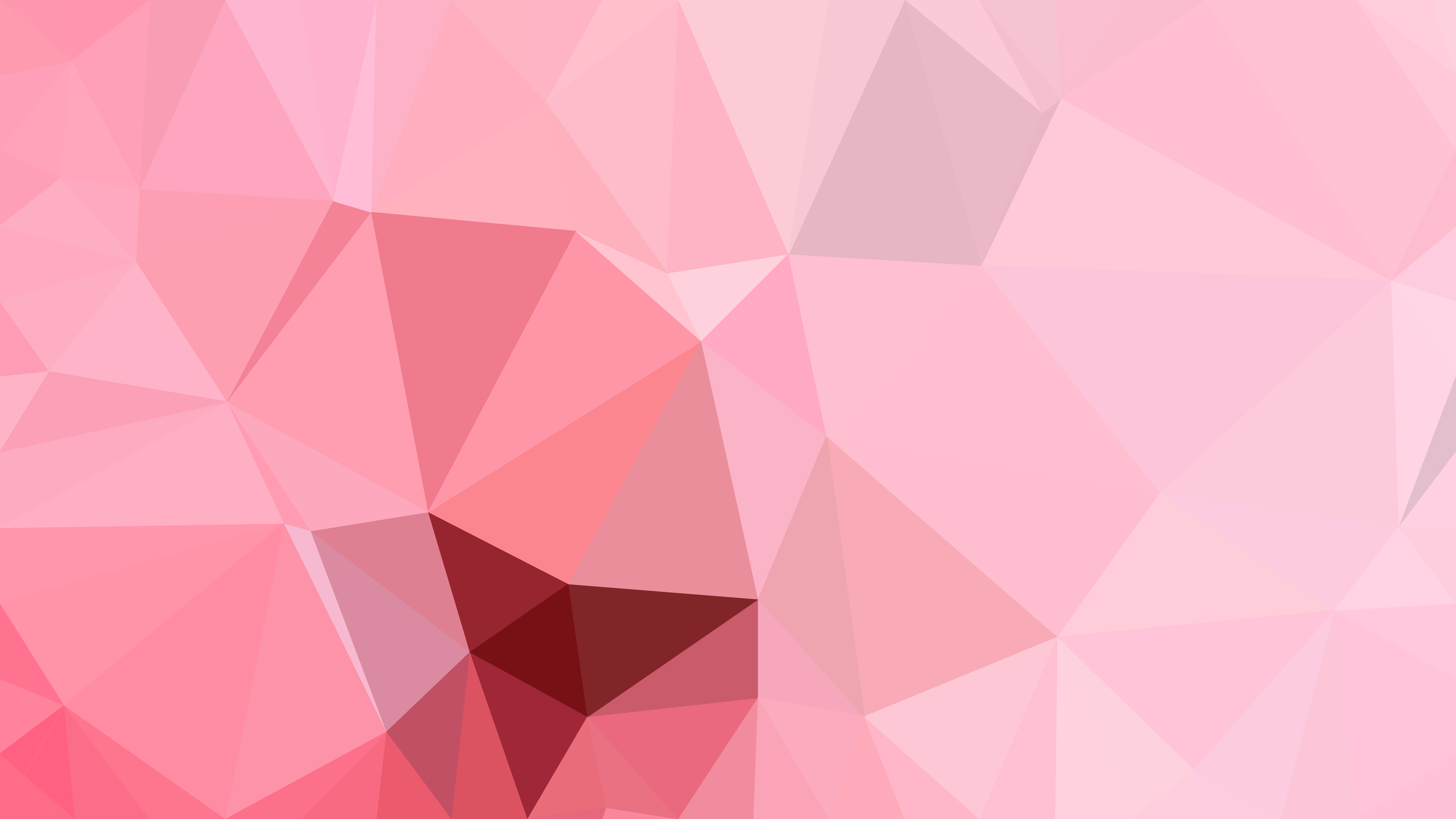 pink polygon background template
