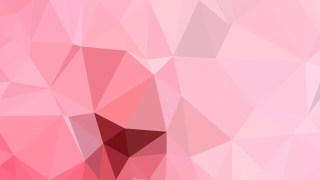 Pastel Pink Polygon Abstract Background