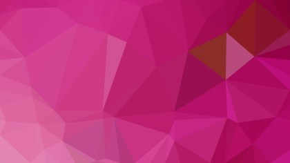 Pink Polygon Triangle Pattern Background