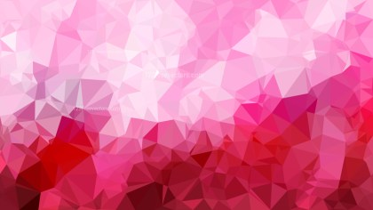 Abstract Pink Polygon Triangle Background